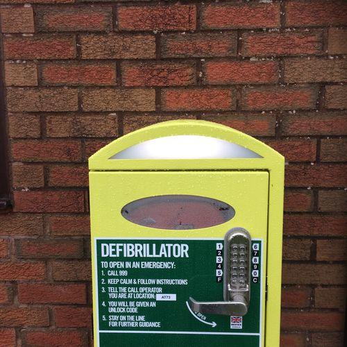 Defibrillator Unit installations 22/02/17