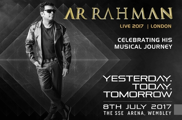 "AR Rahman celebrates 25 Years in music with the ""Yesterday, Today, Tomorrow"" concert"