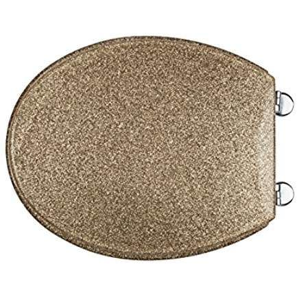 Gold Glitter Tiolet Seat