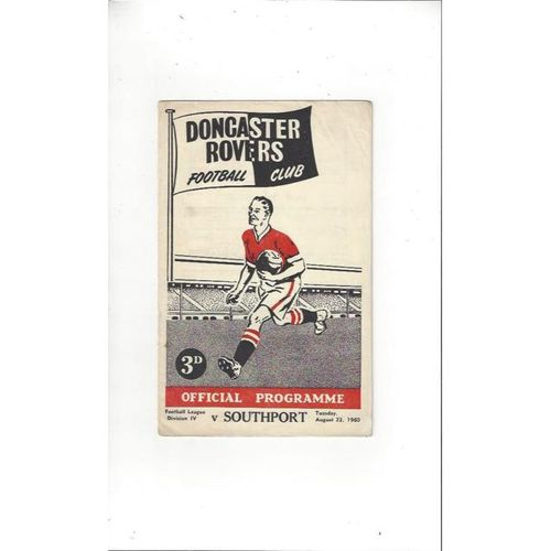 Doncaster Rovers v Southport 1960/61