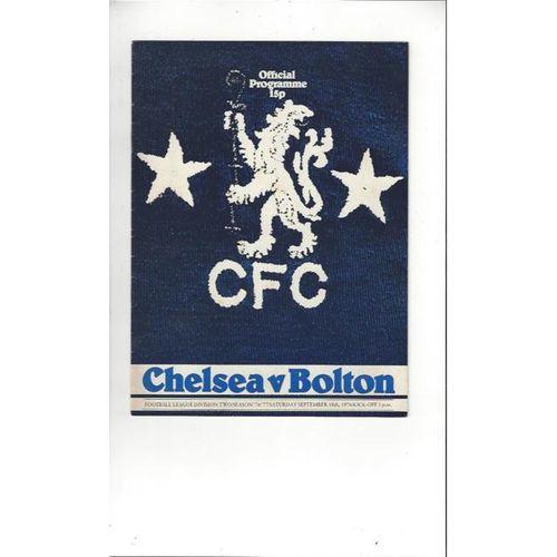 Chelsea Football Programmes