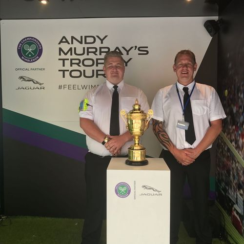 Andy Murrays Trophy Tour