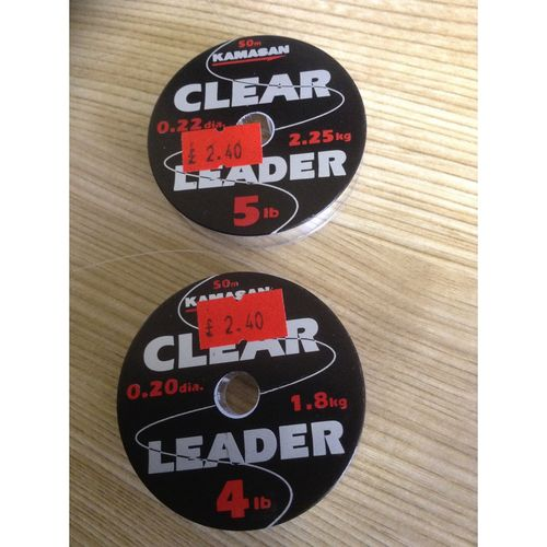 Kamsan Clear Fly Leader