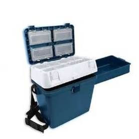 Poseidon Boat Seat Box With Side Tray