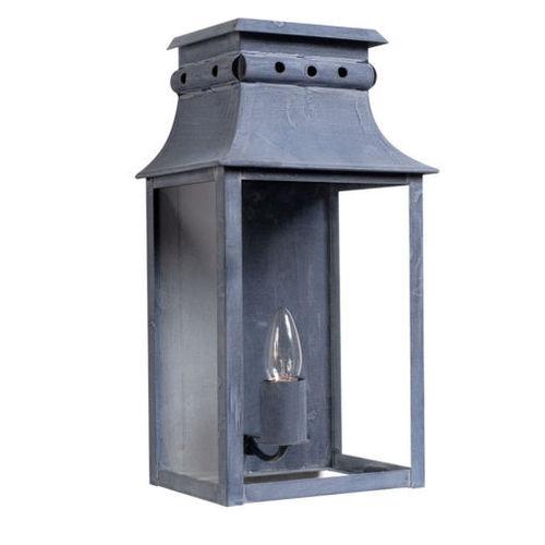 Zinc Wall Lantern