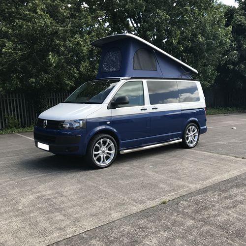 Volkswagen T5 Royal Blue & White Two Tone - £31,500.00 (inc. VAT)