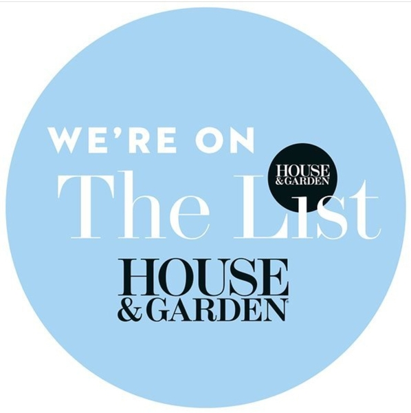 We're on The List by House & Garden Magazine
