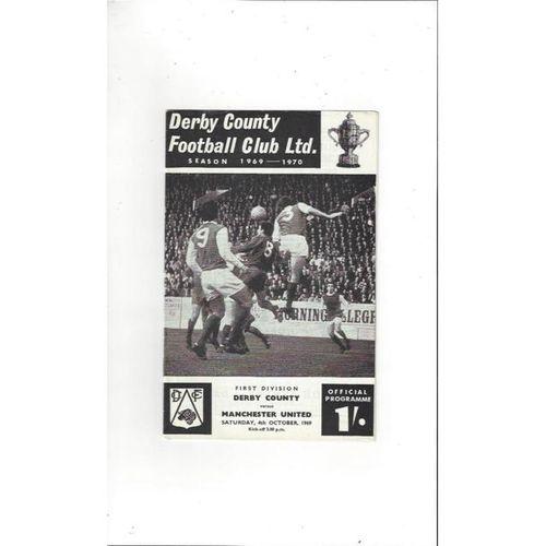 Derby County v Manchester United 1969/70