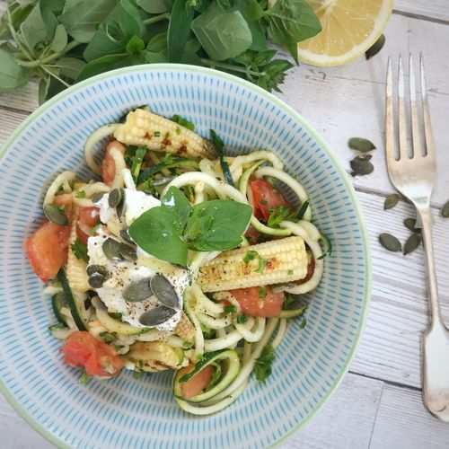 Summer Bowl Courgetti