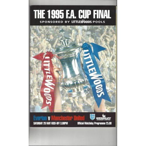 FA Cup Final Football Programmes