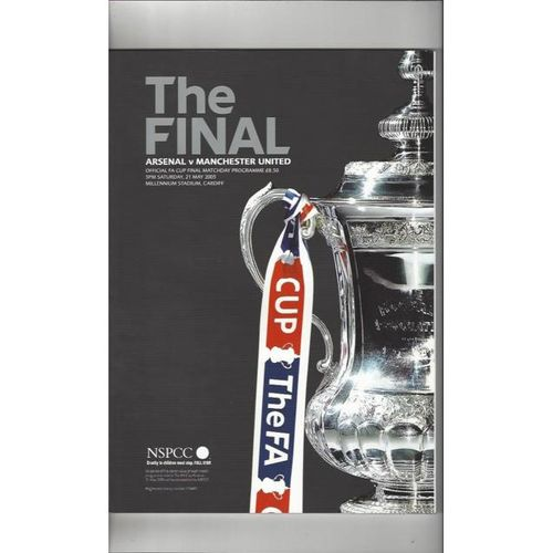 Arsenal v Manchester United FA Cup Final 2005