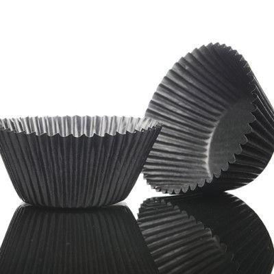 100 Dark chocolate glassine muffin cases