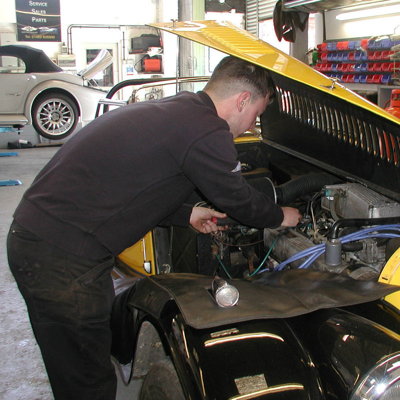 Classic Morgan Service in Hertfordshire and Bedfordshire