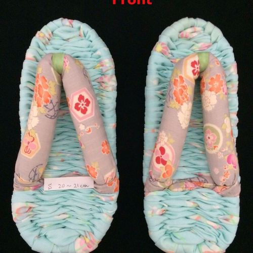 ONE PAIR of new nuno zori, Japanese handmade house slippers, many choices