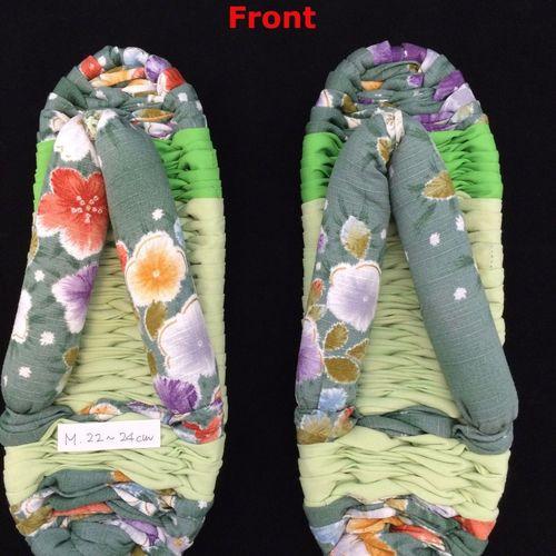 ONE PAIR of new nuno zori, Japanese handmade house slippers, many choices