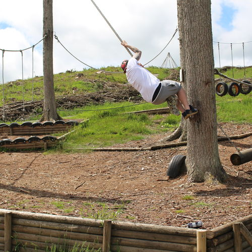 """""""Go Ape"""" Style Ropes Course"""