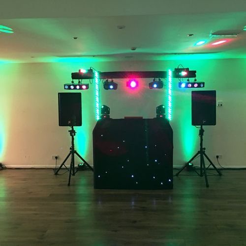 TRAX Party Package 1 (DJ Pete's Rig)
