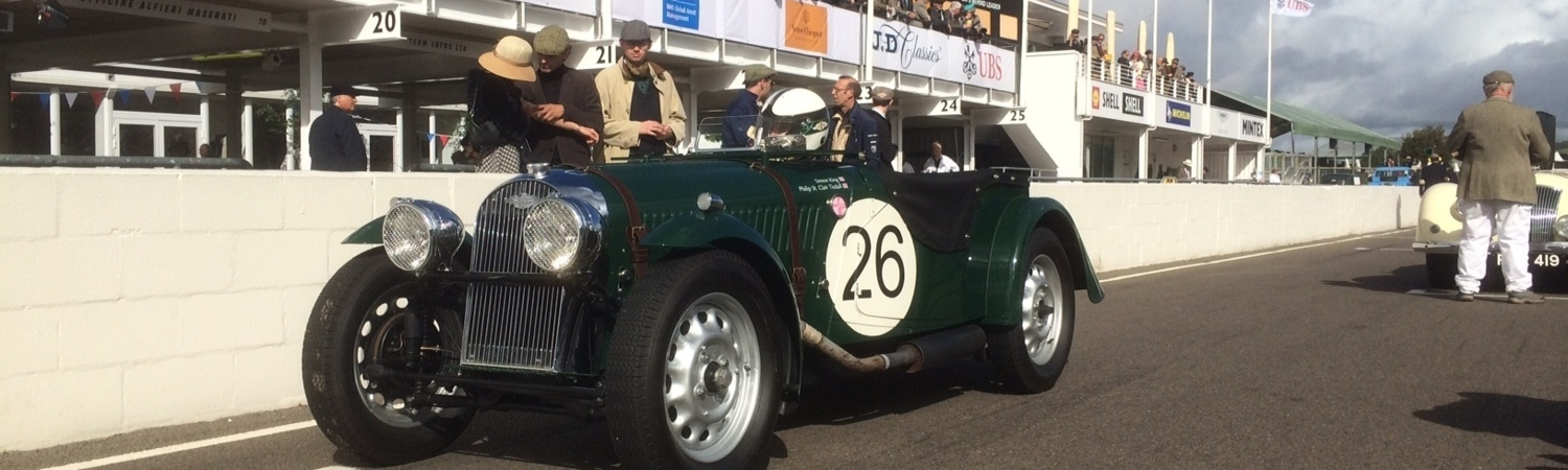 Morgan Racing at Techniques - Le Mans Classic