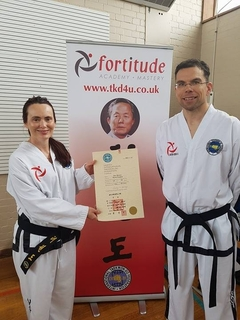 Jane's Journey to Second Degree Black Belt (and Beyond!)