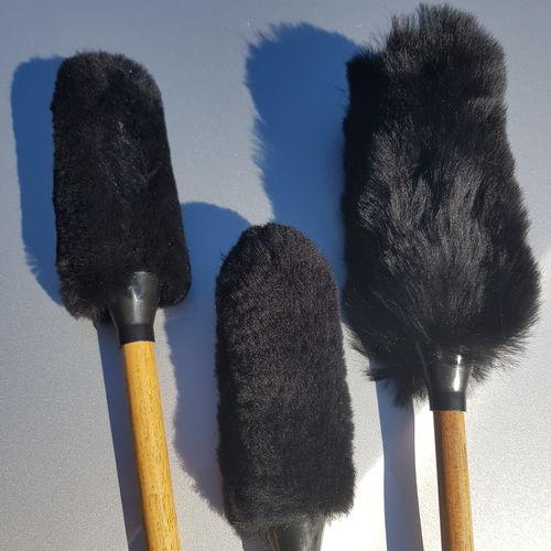 Flexipads Wheel & Trim Wool Wands Pack of 3