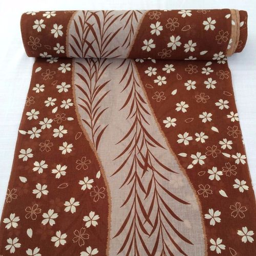 Linen summer kimono fabric