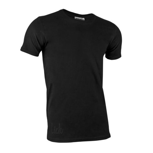 Long & Lean Lick T-Shirt Black