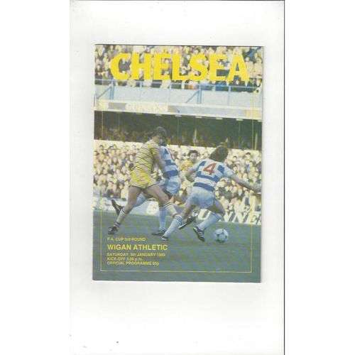 Wigan Athletic Football Programmes