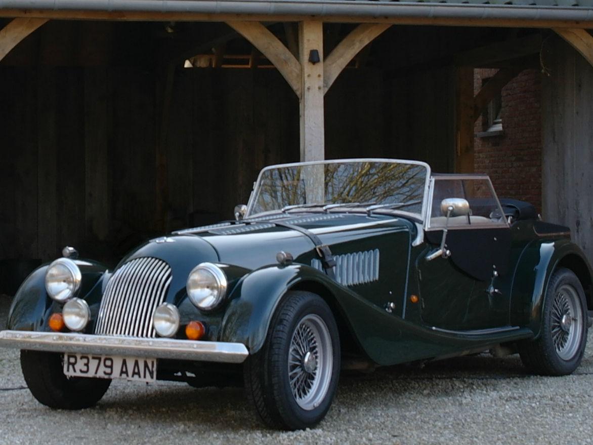 1998 Green Morgan +4 4-seater 'Dickie Coupé' Conversion - £34,950