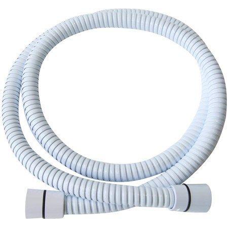 1.5 PVC Shower Hose White