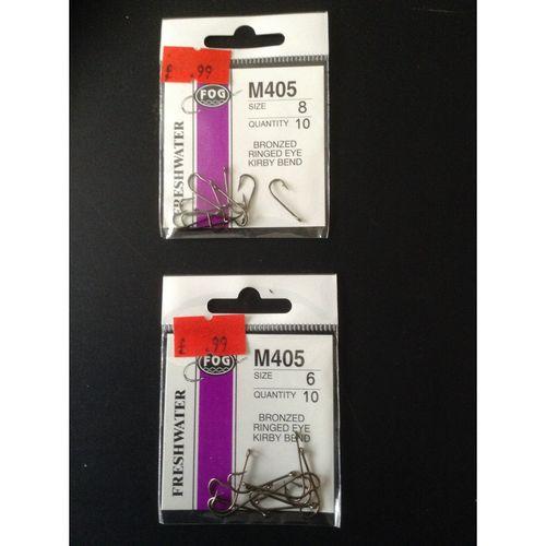Fog Freshwater Hooks M405
