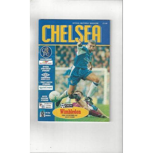 Chelsea v Wimbledon 1997/98