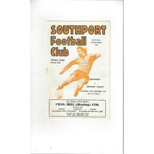 Newport County Away Football Programmes