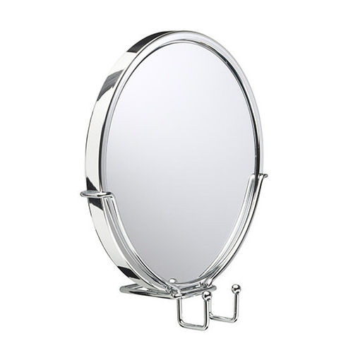 Swivel Anti-Fog Acrylic Mirror & Razor Holder