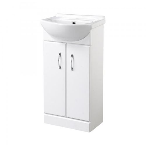Kingsford Two Door White Vanity Unit