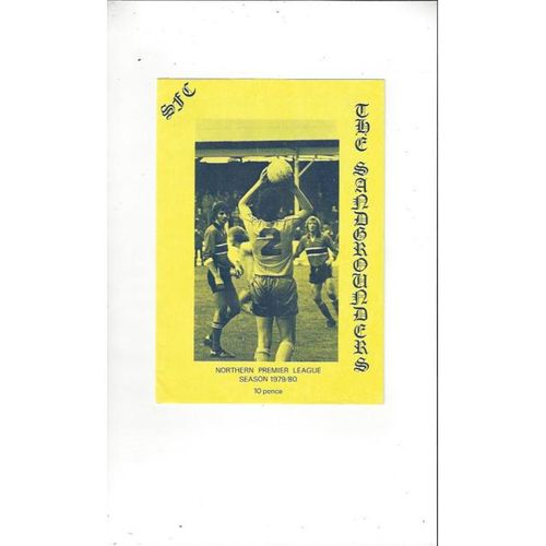 1979/80 Southport v Worksop Town Football Programme