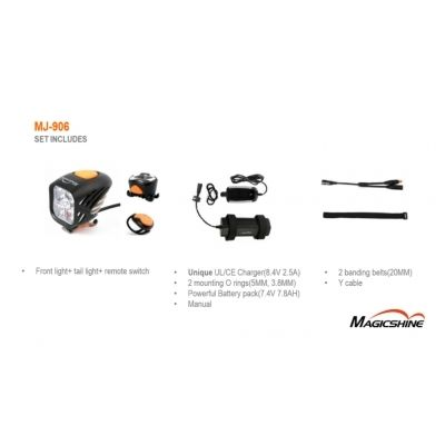 Magicshine MJ-906 5000 Lumens Bike Light | 2016 Model