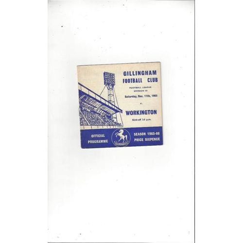 Workington Away Football Programmes