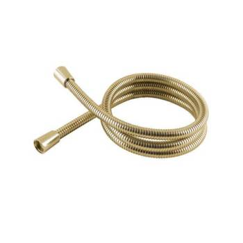 1.5 PVC Hi Flow Shower Hose Gold