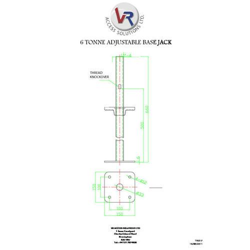 Adjustable Base Jacks