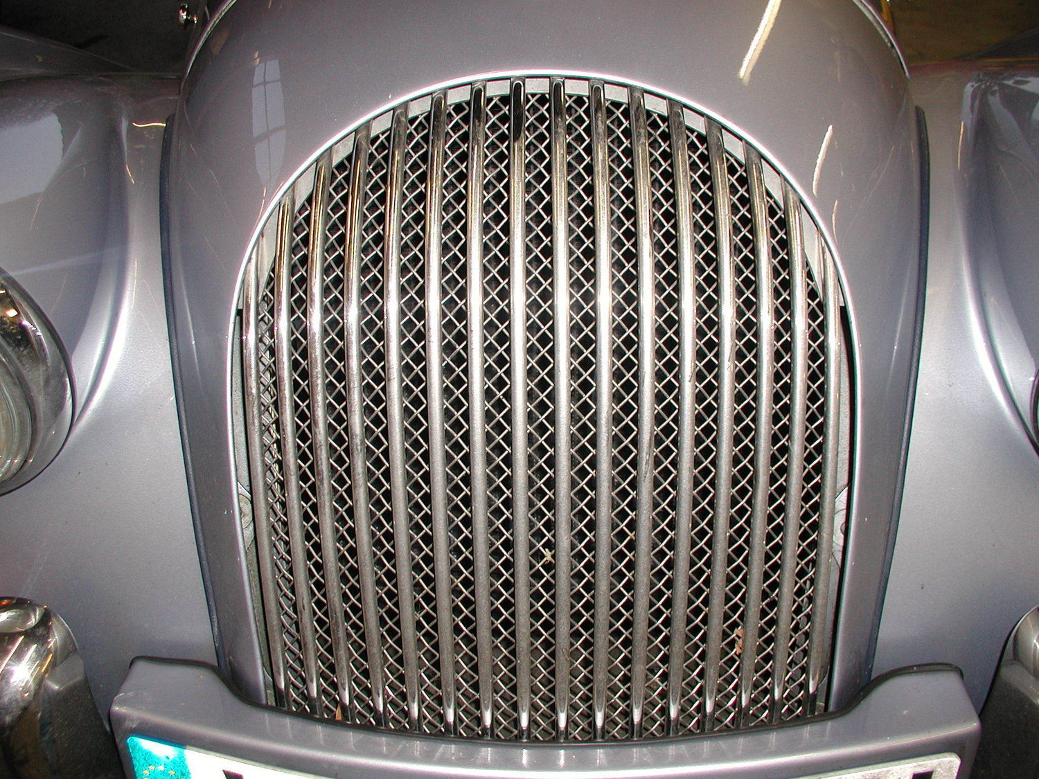 Radiator Mesh Grille - Stainless