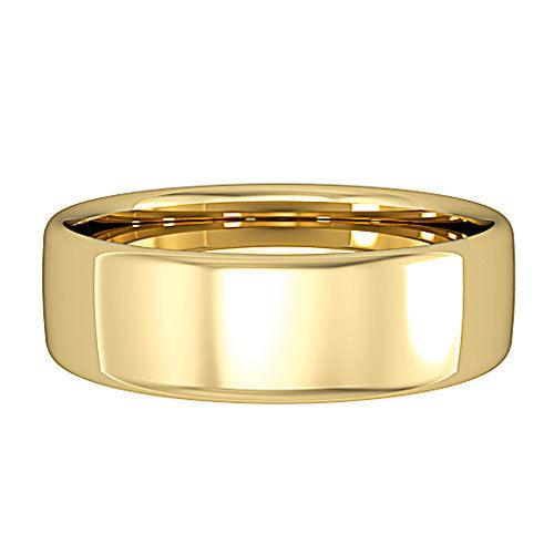 9ct Gold 6mm Wedding Ring