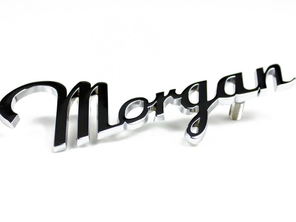 Morgan Script Badge
