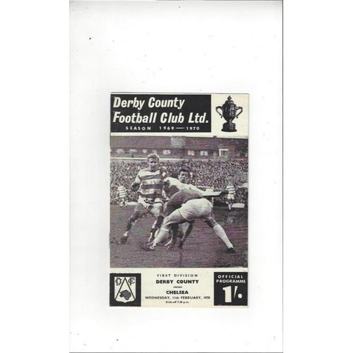 Derby County v Chelsea 1969/70