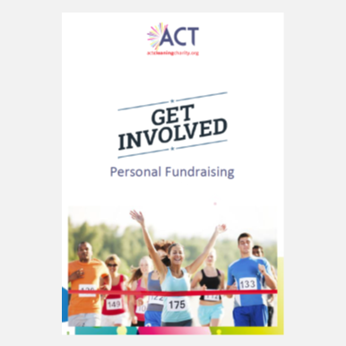 ACT Get Involved personal fundrasing pack download cleaning charity