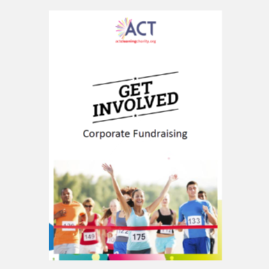 Get involved corporate sponsor pack fundraising act cleaning charity