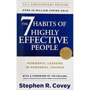 Stephen Covey. The Seven Habits of Highly Effective People