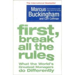 Marcus Buckingham and Curt Coffman. First Break all the Rules
