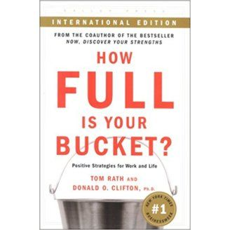 Tom Rath and Donald Clifton. How full is your Bucket? Gallup Press, 2009.