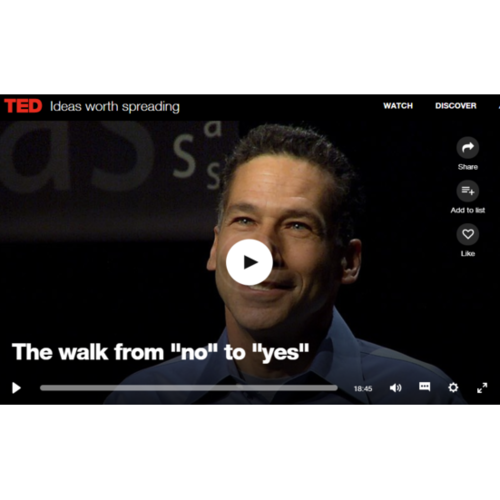 William Ury: The Walk from 'no' to 'yes'