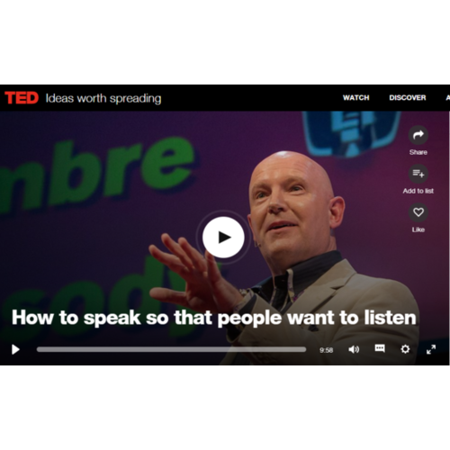 Julian Treasure: How to speak so that people want to listen